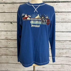 Disney 2013 Disneyland long sleeve tee MEDIUM EUC